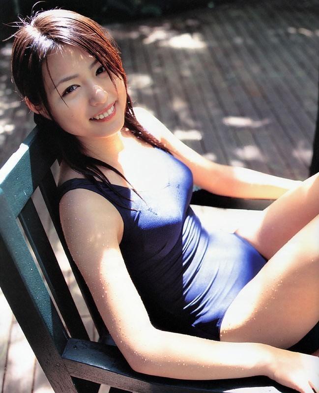 【スク水エロ画像】学生時代の水泳の授業を思い出してハァハァするエロ画像w 16