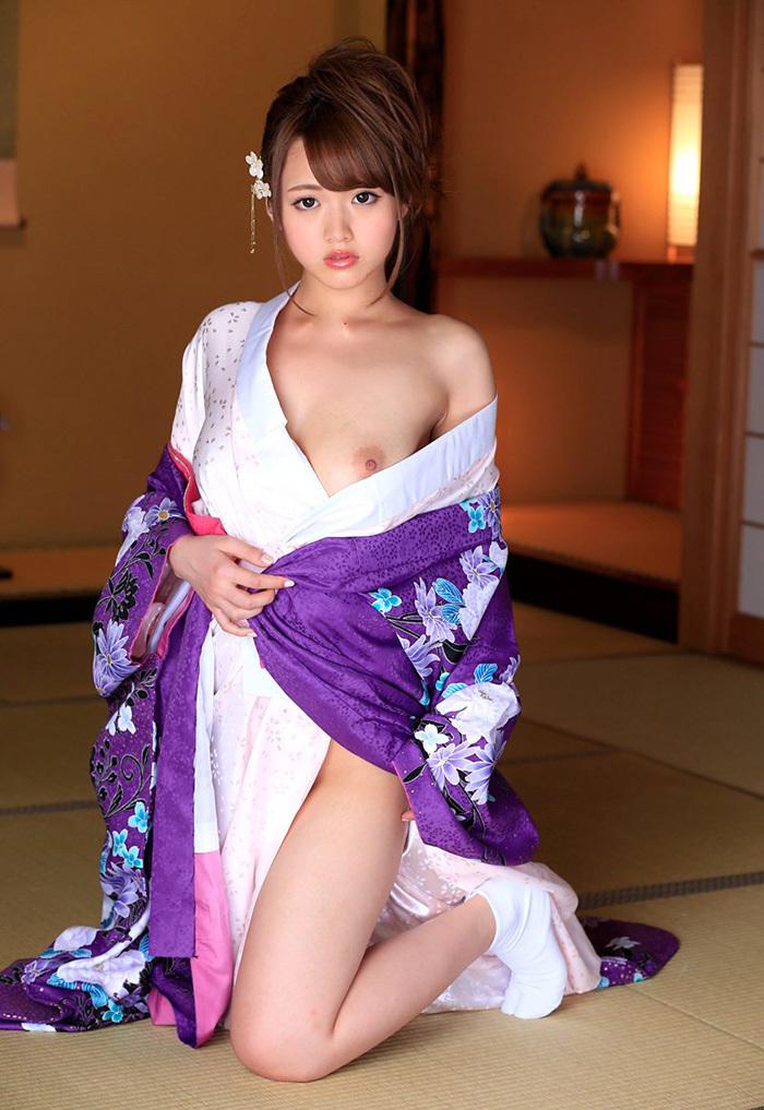 【和服エロ画像】やっぱり自分は日本人だと確信してしまうエロスがこちらww 02
