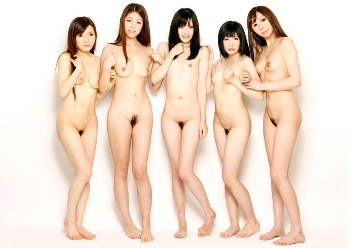 【複数ヌードエロ画像】複数人の女の子のヌードから自分好みを探してみようずw 04