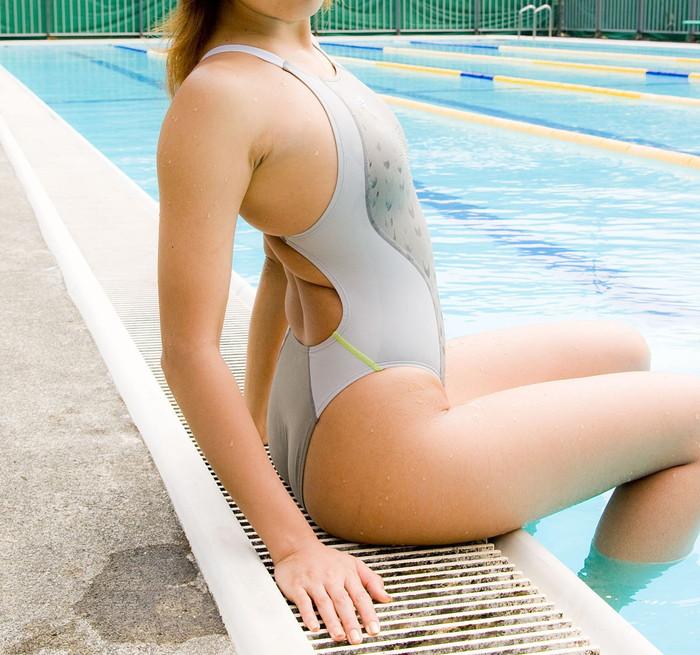 【競泳水着エロ画像】競泳用とは言うけれど…こんな卑猥な水着、勃起するわww 07