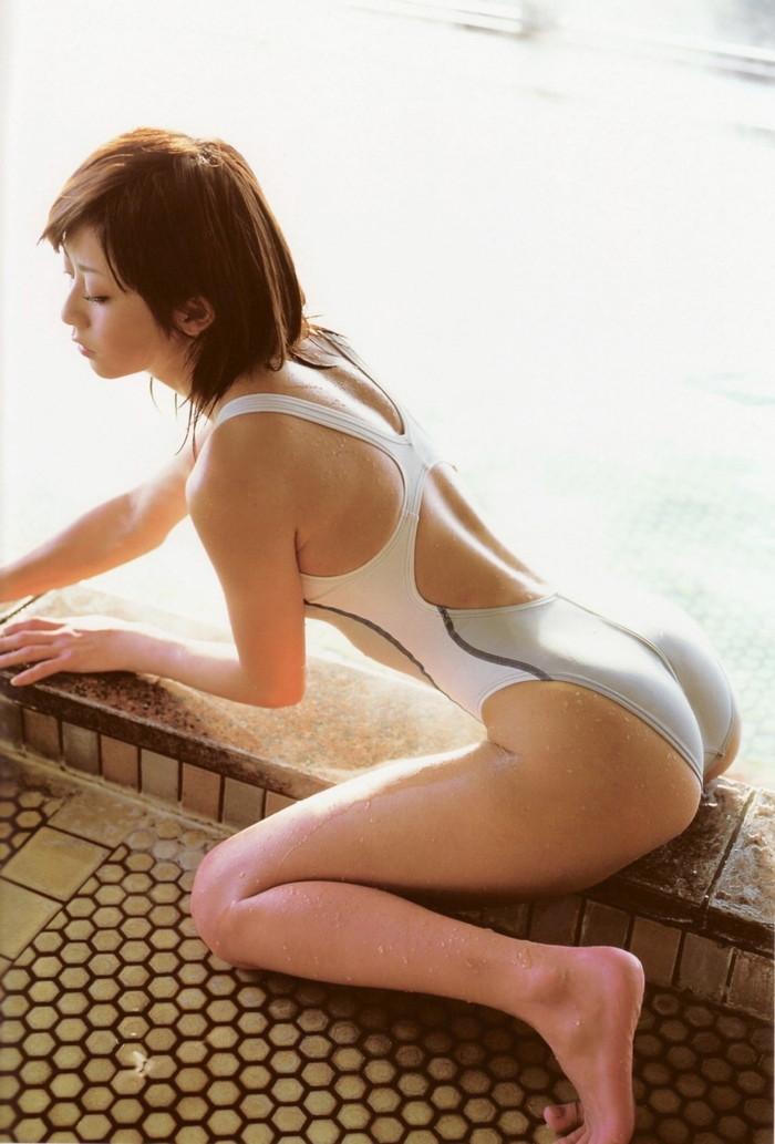 【競泳水着エロ画像】競泳用とは言うけれど…こんな卑猥な水着、勃起するわww 26