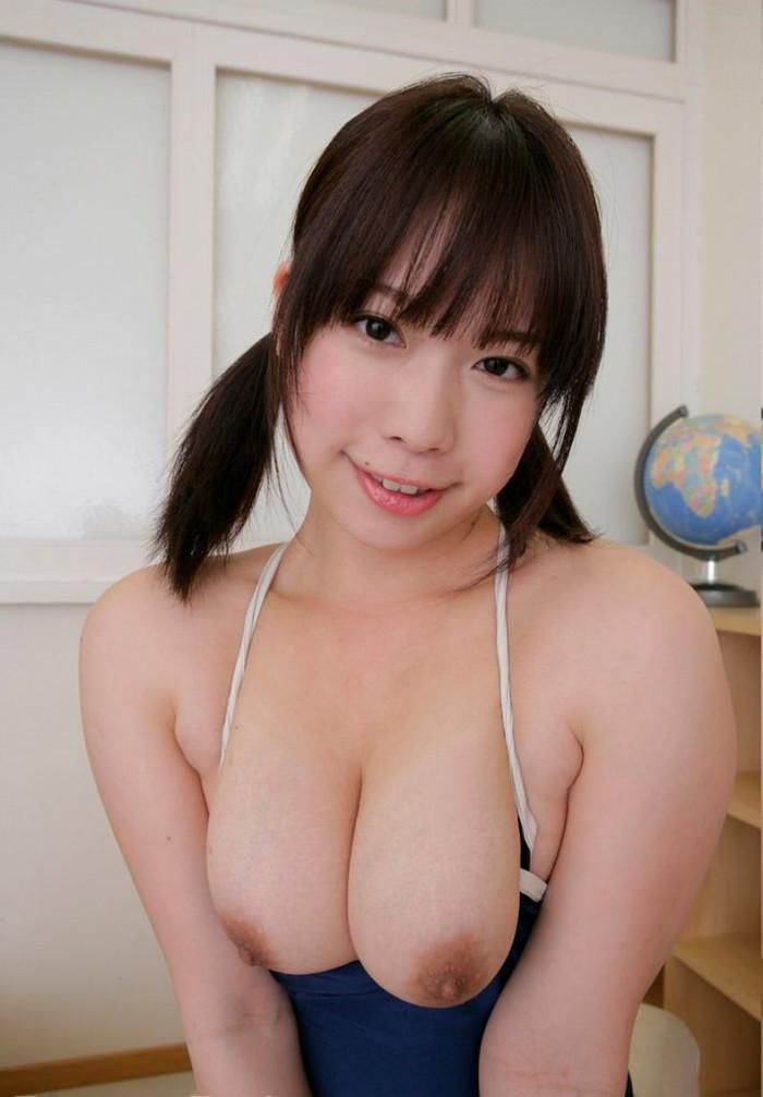 【スク水エロ画像】マニアックだけどそれがいい!スクール水着女子!www 16