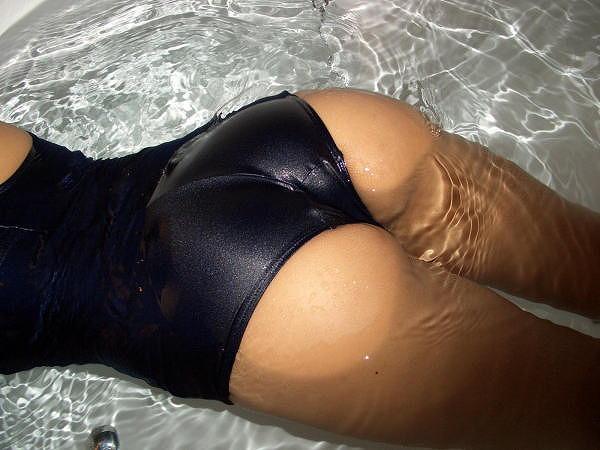 【スク水エロ画像】マニアックだけどそれがいい!スクール水着女子!www 27