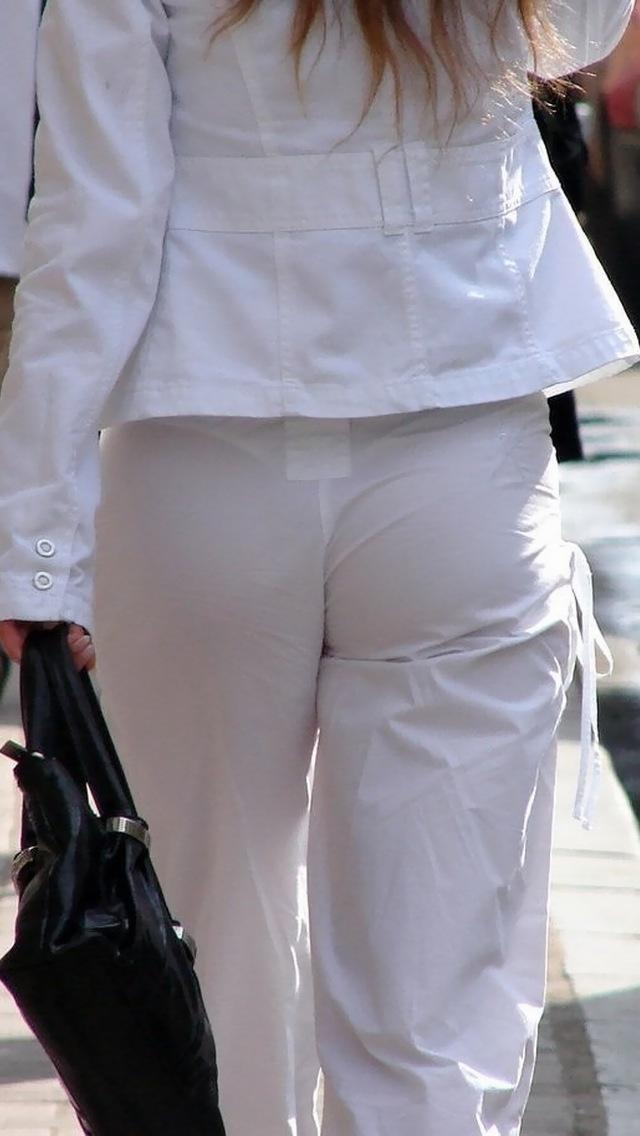 【着衣透けエロ画像】着衣がスケスケ!まるで透視しているかのような着衣の透けたまんさんw 14