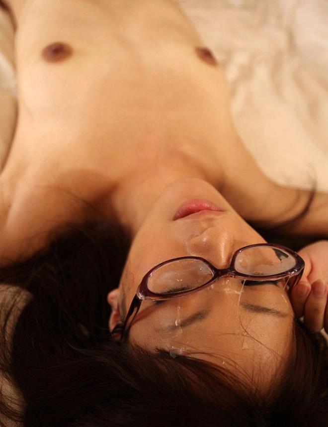 【顔射エロ画像】顔射好きにはたまらない!女の子の顔がザーメンまみれ!www 10