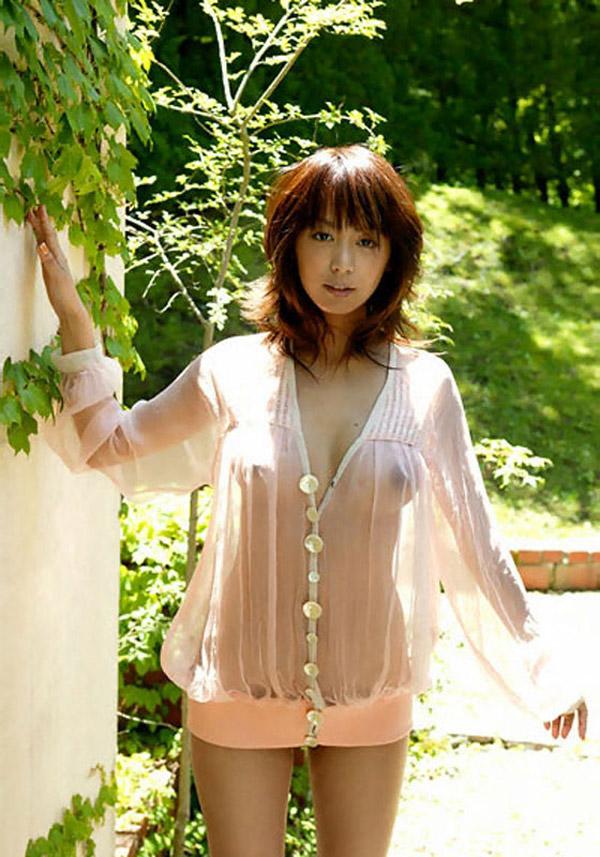 【シースルーエロ画像】シースルーの着衣ってこんなにエロいのか!草生えたwww 06