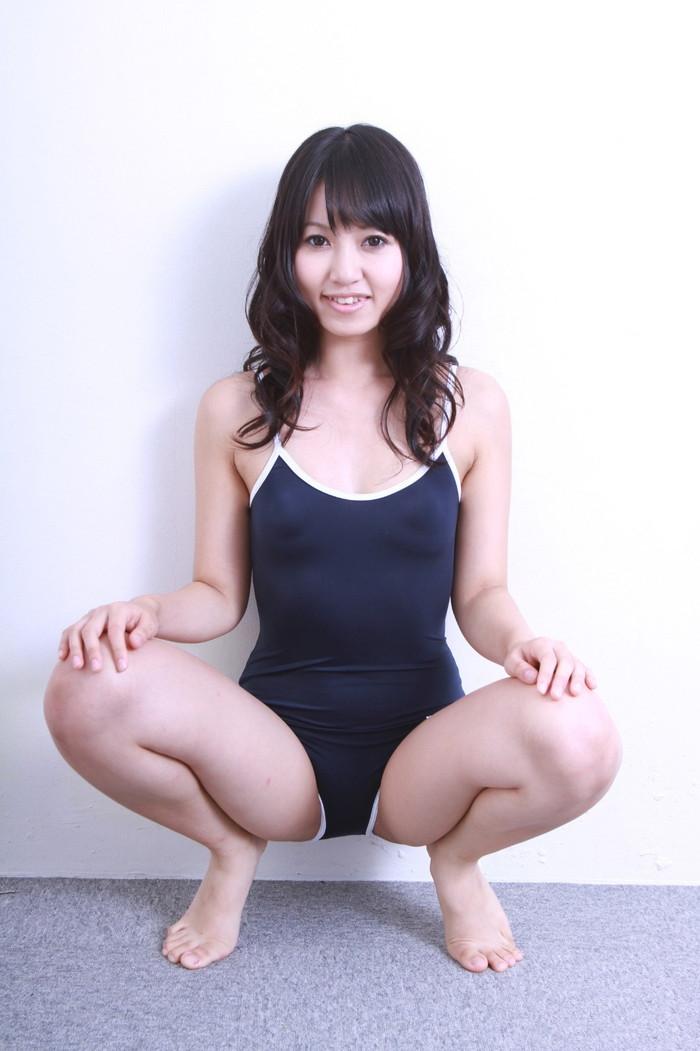 【スク水エロ画像】スク水マニア必見!?スクール水着の女の子達のエロ画像 08