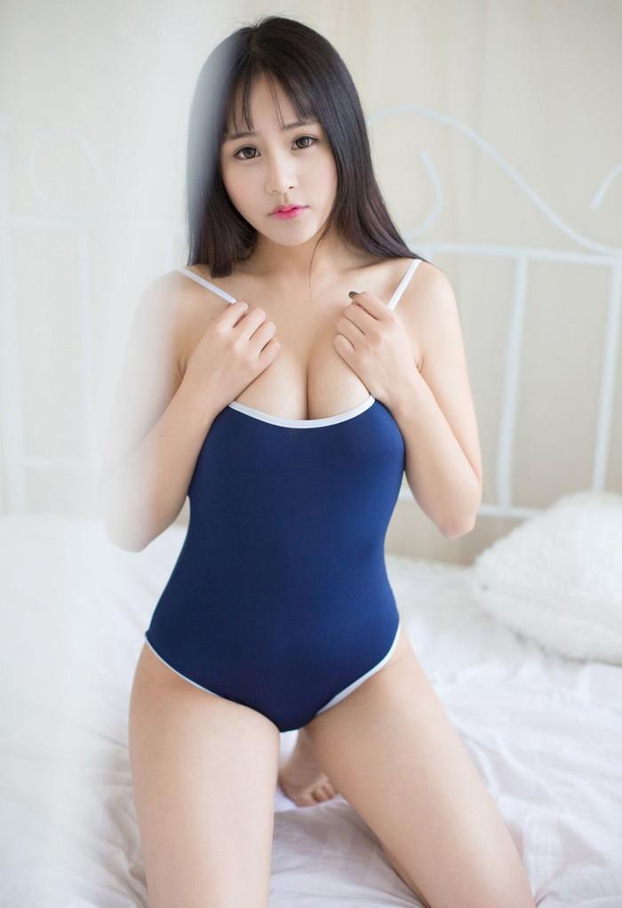【スク水エロ画像】スク水マニア必見!?スクール水着の女の子達のエロ画像 16