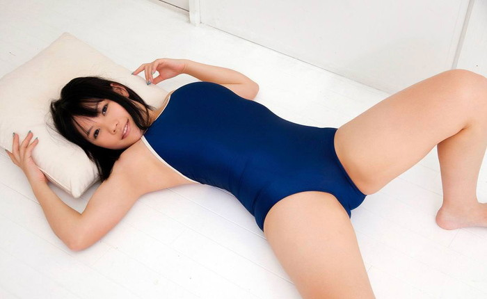 【スク水エロ画像】マニアックだけどどこかソソるスクール水着の女の子! 25