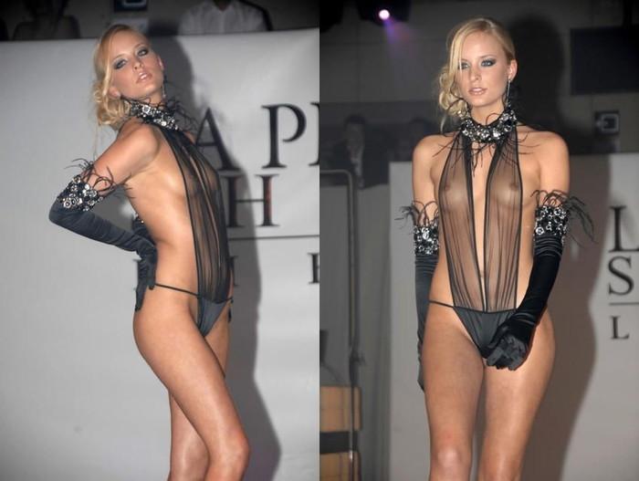 【ファッションショーエロ画像】朗報!世界のファッションショーはこんなにエロかったwww 22