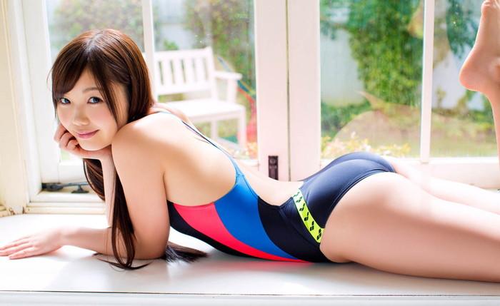 【競泳水着エロ画像】おい!おまいら!競泳水着ってこんなにエロいんだぜ! 12