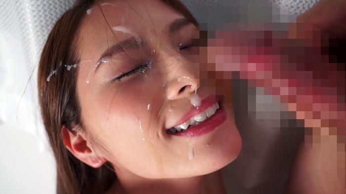 【顔射エロ画像】女の子の顔が男の欲望の汁まみれの顔射画像がエロ杉!wwww 03