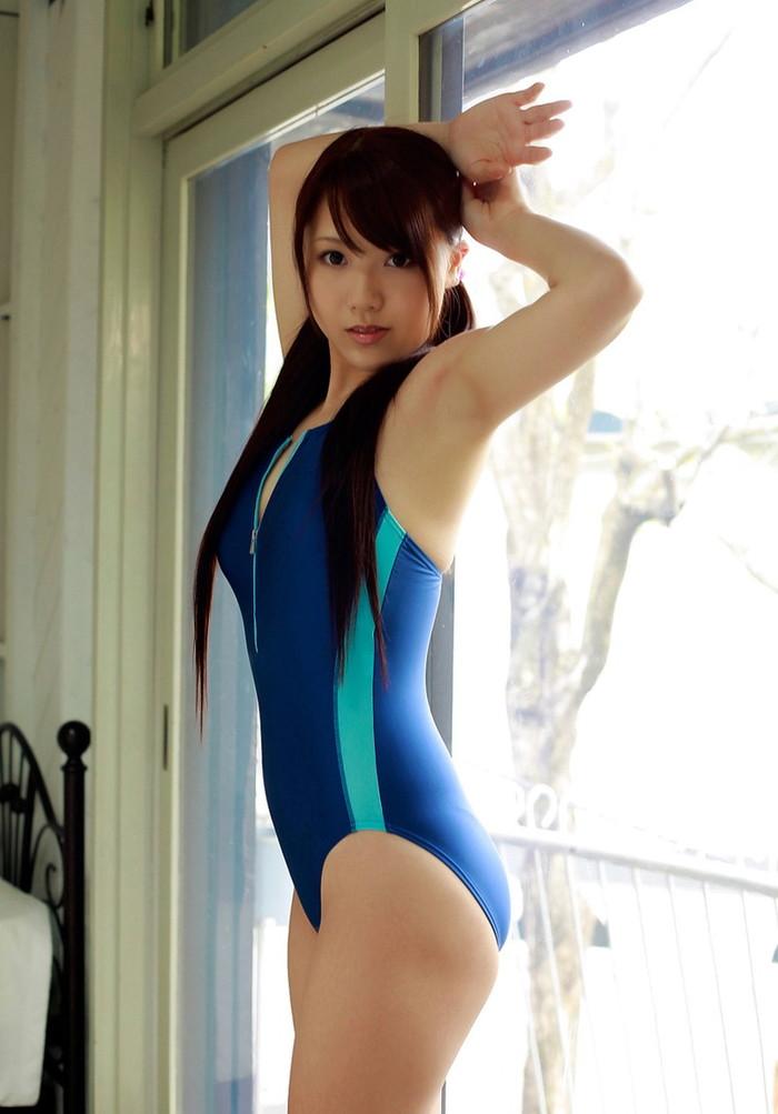【競泳水着エロ画像】競泳水着のエロさって実は物凄いエロスだよなwwww 20