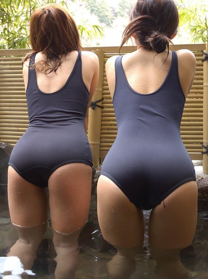 【スク水エロ画像】スクール水着というマニア向けの最強水着!これはエロい! 03