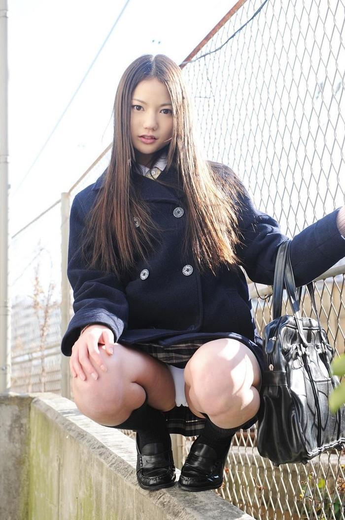 【JKコスプレエロ画像】JKコスプレ下女の子たちのエロい姿の画像集めてみたwww 10