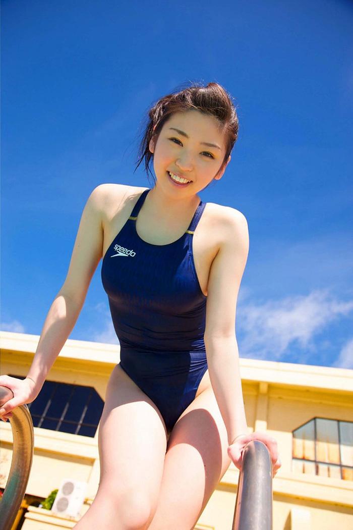 【競泳水着エロ画像】着こなし方次第でここまでエロくなる競泳水着www 30