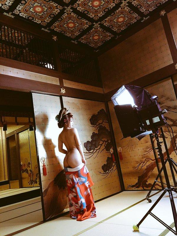 【和服エロ画像】こんな画像みて美しい!と思える時って日本人で良かったと思うw 16