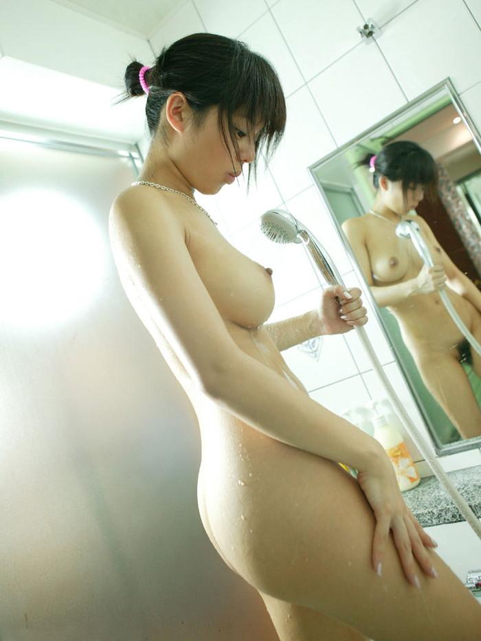 【シャワーエロ画像】寒い日にはこんな女の子たちと一緒にお風呂…最高だよなw 28